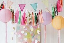 Happy Vintage Pastell / Gute Laune Trend für den Wedding Day: Happy im sonnig-pastelligen Vintage-Look mit farbenfrohen Deko-Elementen für natürlich fröhliche Hochzeiten und Brautparties zum Glücklichsein und immer wieder neu Verlieben!