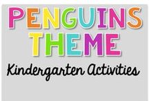 Penguin Theme {Kindergarten Activities} / Penguin Theme Activities   Art, Science, Reading, Math, Writing, Technology and everything in Between