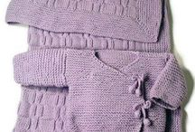 Knitted Baby Items