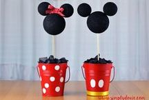 Mickey Mouse &  Minnie Mouse Birthday Party