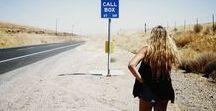 ▲ ON THE ROAD ▲ / Take the road with me - Boho, Cali, Summer, Free minded inspired shots from adventurers all over the world ! En voiture simone ! C'est parti pour le road-trip de votre vie, à travers la côte ouest des US ou ailleurs...