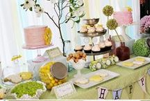 Party Ideas / Inspiration and ideas for throwing an awesome party. Printables, activities, recipes, and dessert tables.