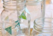 Mason Jar Ideas / useful and creative ideas for mason jars.