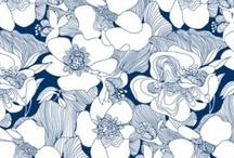 Floral Fabrics - Motifs Floraux