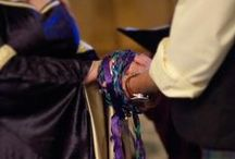 Handfasting / This is something I went thru with my S.O. way back when. It was such a lovely way to join in a union with my partner. Looking back it was the most magical life altering thing I can ever remember happening to me in my life. I am very blessed by the goddess for giving me my S.O.. Feel free to Re-pin anything you like. LadyDawn the Witch Writer / by LadyDawn The Witch Writer