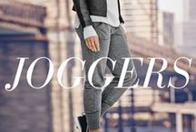 Joggers / Chic city-dwellers inspired this season's trend for casual-cool slouchy styles that fit in on the streets and the gym, alike. / by Athleta