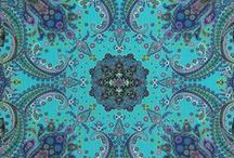 Mystique by Chong-a Hwang / by Timeless Treasures Fabrics