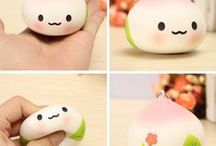 Squishy Toy / You can find  so many squishy Toy. This little things will make you happy^^