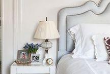 bedrooms / by Sara Mueller