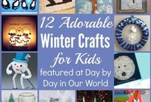 Seasons: Winter / Decorating, Craft, Party, Food etc. Ideas for Winter.
