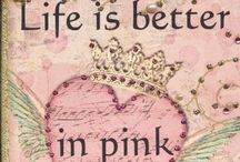 All things Pink! / Pink sweetness / by Robin Nieto
