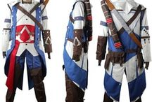 Assissan's Creed III costumes / Assissan's Creed III Connor Kenway cosplay costume, Connor Kenway hoodie