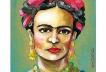 Frida  / by Ronit רונית Yehuda Levy יהודה לוי