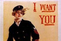Women Answering the Call in WW I & II / by Nancy Bartell