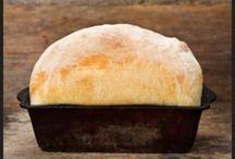 Bread Basket / Bread and Cracker recipes / by Robin Nieto