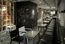 Restaurants + café design  / by Eleftherina Gal