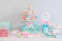 Cupcake Party Ideas / Party ideas for a cupcake theme party.