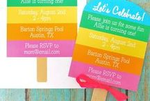 Rainbow Popsicle Party / by anna and blue paperie