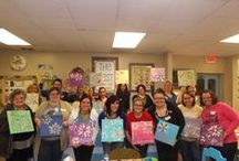 Craft Club @ The Nest / Each month our store, The Nest holds a Craft Club Night!!