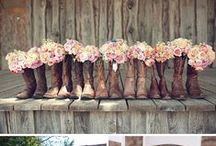 Rustic Country Chic Wedding / by Jill Leonard McAmis