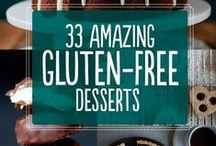 Food - GF Sweets / Recipes for gluten free sweets! #glutenfree #gfree #desserts / by Karen Browning