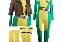 X-Men costumes / X Men Hugh Jackman Logan Wolverine leather jacket motorcycle leather jacket. X-Men Hugh Jackman leather jacket Logan Wolverine cosplay costume w/ phoneix pattern fancy shirt. X-Men Rogue cosplay costume halloween costume gift for girls women.
