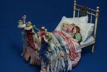 Miniature Dolls & Clothes / by BRIANA JOHNSON