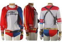 Suicide Squad costumes / Batman Suicide Squad Harley Quinn Joker Jared Leto cosplay costumes
