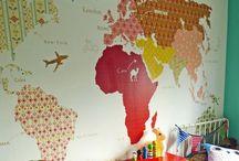 Decor: Maps / by Jenn-Lee