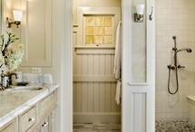 URBAN COTTAGE | Bathrooms / Bathroom inspiration for the one bathroom in my 1930's 920 square foot urban cottage | bathroom decor | bathroom ideas | bathroom storage | farmhouse bathroom | industrial bathroom | vintage bathroom | cottage bathroom