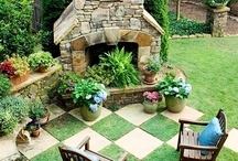 GARDEN | Landscape / Inspiration and tips for landscaping my small urban garden right in the middle of town | landscaping | hardscaping | edible landscaping | walkways | pathways
