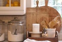 URBAN COTTAGE | Kitchens / Kitchen inspiration for my 1930's 920 square foot urban cottage | farmhouse kitchens | vintage kitchens | white kitchens | industrial kitchens | cottage kitchens