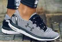 Pumped Up Kicks / running shoes, sneakers, gym shoes, athletic shoes, fitness shoes, trainers / by POPSUGAR Fitness