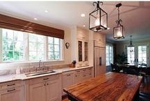 Interior Design | Kitchen Design / This board shows the many ways to light up the heart of the home.