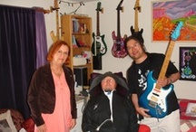 Visit to Jason's. 6/16/2013 / My recent visit to San Francisco, I was privileged to meet one of my all time favorite guitar hero. Jason Becker