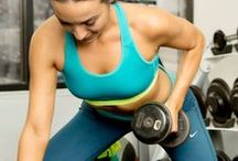 Arm Workouts / Exercises and workouts to target the arms, shoulders, and upper back.