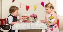 HOLIDAYS - Valentine's Day with Kids / Recipes and entertaining ideas for celebrating Valentine's Day with kids.