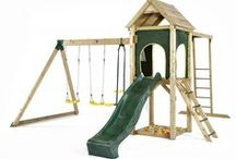Swing Sets / Children's Metal and Wooden Swing Sets  at Kids Mega Mart Shop Australia www.kidsmegamart.com.au