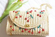 Straw Bags & Totes / Straw Bags | Straw Totes | Straw Clutch | Wicker Baskets | Straw Baskets | Bamboo Clutch | Straw Handbags | Bamboo Bags