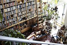 Office Spaces and Bookshelves / by Ashley Harper