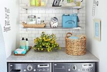 Laundry Rooms / by Ashley Harper