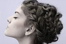 hair, tresses, locks, mane / how-to's and inspiration / by Gloria Yip