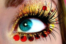 Eye for beauty / Eyes, eyes, eyes. I have such uninteresting, boring brown eyes. I love beautiful eyes & the make-up that makes them that way.