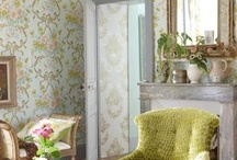 BEAUTIFUL ROOMS AND SPACES / by Janet