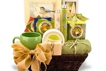Spa Gifts - All About Relaxation / Here are a few of our favorite bath and body baskets. These relaxing spa gifts are designed to pamper and rejuvenate.  / by Arttowngifts.com