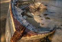 Damaged? / Beautiful examples of urban decay & beauty in other strange places.