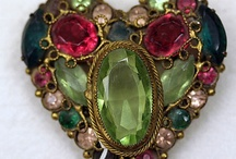 Antique and Vintage Heart Jewelry / by Janet
