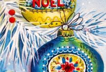 Vintage Christmas Cards / Cards of old / by Jeri Schneider