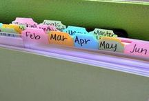Organizing / by Kimberly Cook