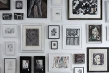 Interiors-art walls / by Woodland Hill